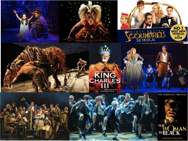 Best westend shows